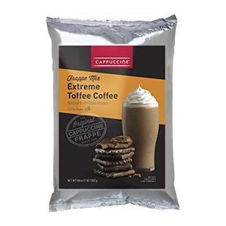 Cappuccine Extreme Toffee Coffee Powder 1kg