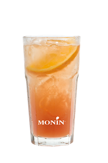 Cranberry and White Peach Collins