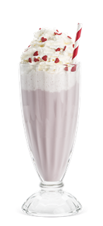 Turkish Delight Milkshake