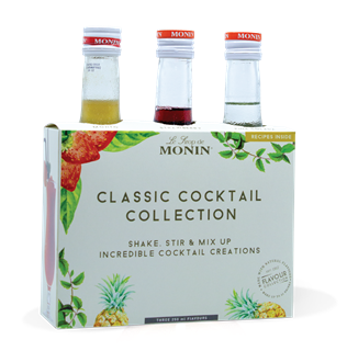 Monin Classic Cocktail Collection Syrups 250ml
