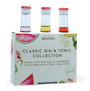 Monin Classic Gin & Tonic Collection Syrups 250ml