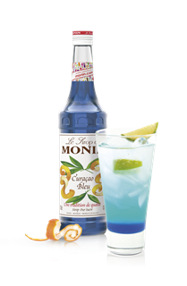 Monin Blue Curacao Syrup 250ml