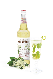Monin Elderflower Syrup 1l