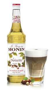 Monin Hazelnut (PET - Plastic) Syrup 1l
