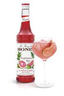 Monin Pink Grapefruit Syrup 1l