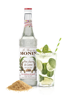 Monin Pure Cane Sugar Syrup 1l