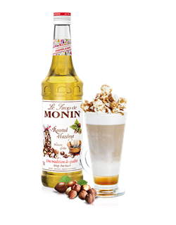Monin Roasted Hazelnut (PET - Plastic) Syrup 1l