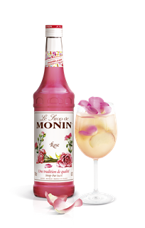 Monin Rose Syrup 1l