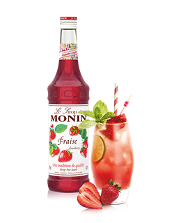 Monin Strawberry Fraise Syrup 1l