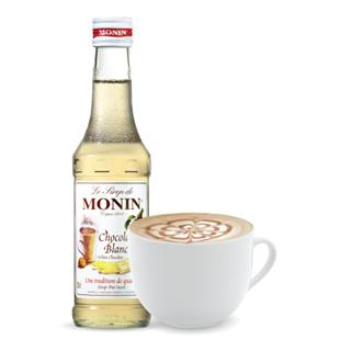 Monin White Chocolate Syrup 250ml