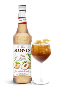 Monin White Peach Syrup 700ml