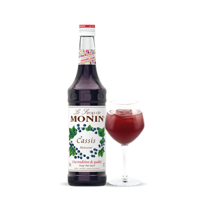 Monin Blackcurrant Cassis Syrup 1l