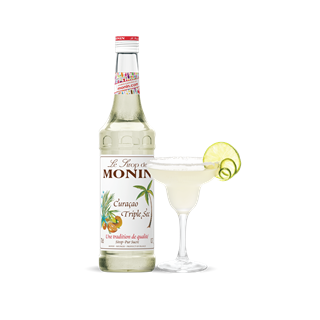 Monin Curaçao Triple Sec Sundried Orange Syrup 1l